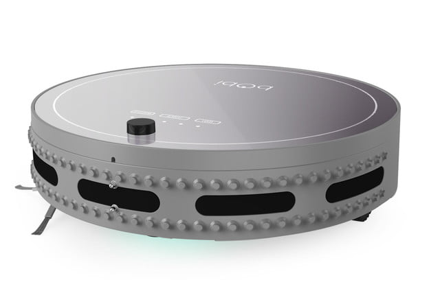 the bobi pet is a robot vacuum made to clean hair bobsweep side