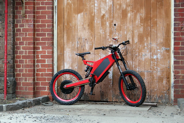 stealth electric mountain bikes 50 mph bomber barn doors