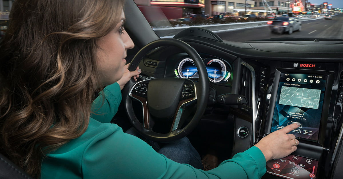 My Ford Benefits >> Bosch Smart Cockpit Technology   Features, Demonstration ...