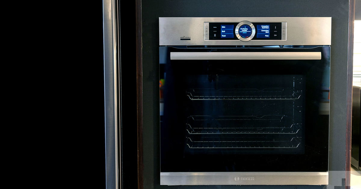 Bosch wall oven series 500 hbe5452uc review digital trends for High end wall ovens