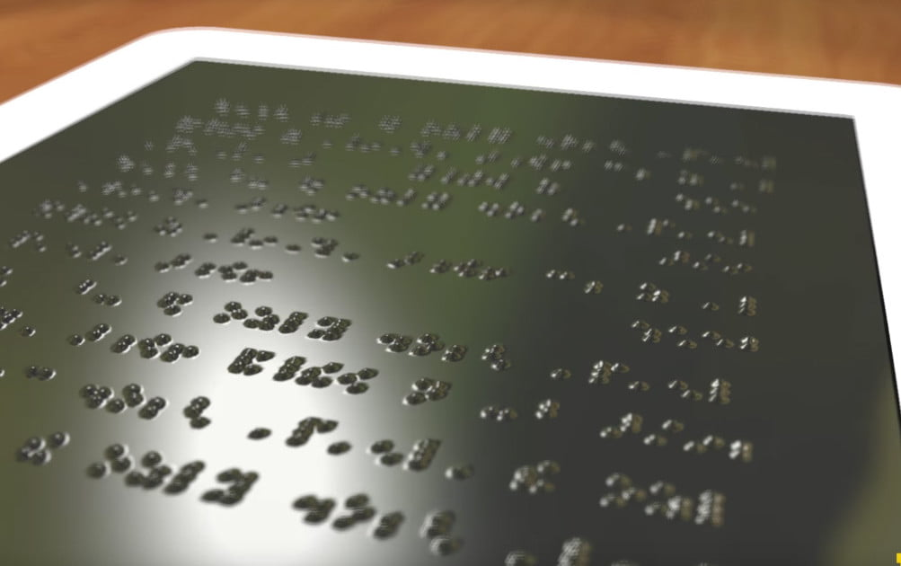 A Kindle For The Blind U S Engineers Working On A