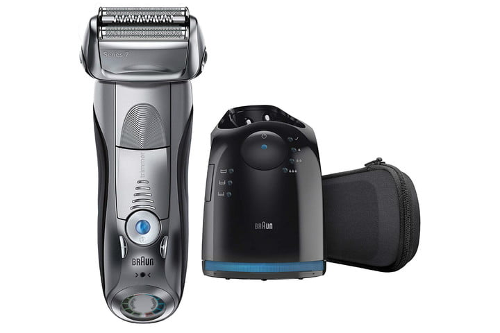 braun series 7 cordless electric shaver station