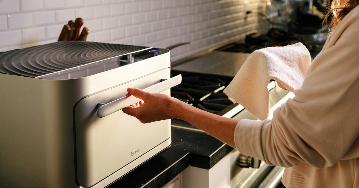 The Brava Oven Uses Light And Seemingly Magic To Cook Your Food