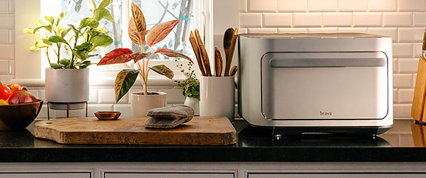 The game-changing Brava Oven uses light to cook, but it might as well be magic