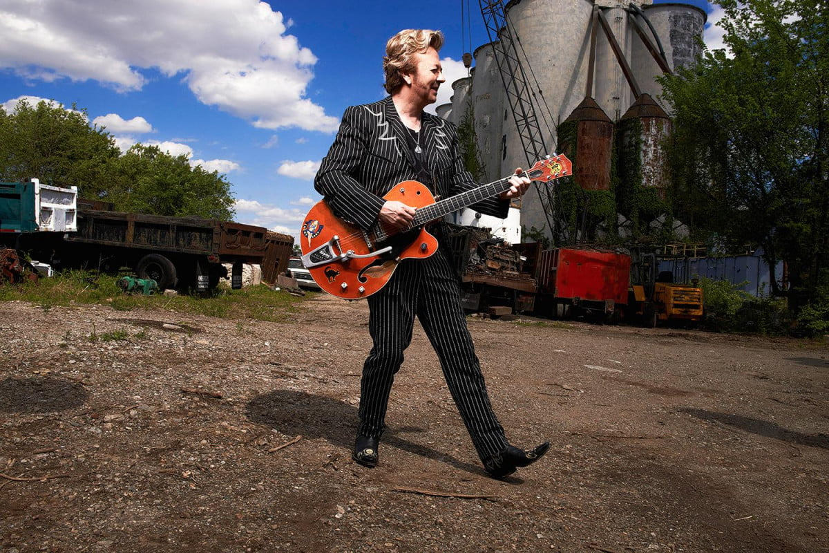brian setzer wrings classic rockabilly sound modern recording 1  photo by russ harrington