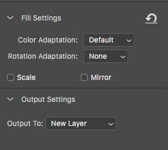 how to remove an object in photoshop content aware fill cafsettings