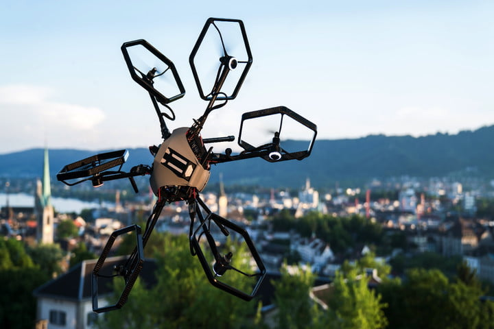 Move over, quadcopters! A hexacopter could be the most versatile drone yet