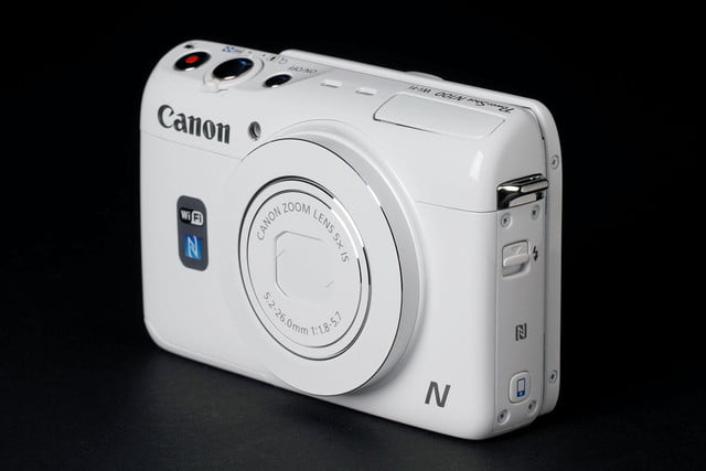 Canon N100 front top angle