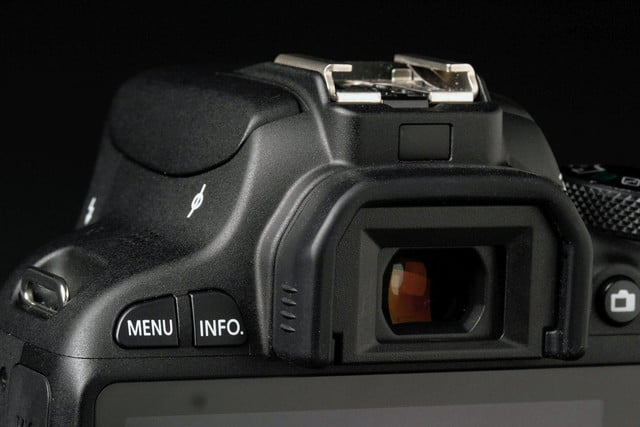 Canon Rebel SL1 viewfinder