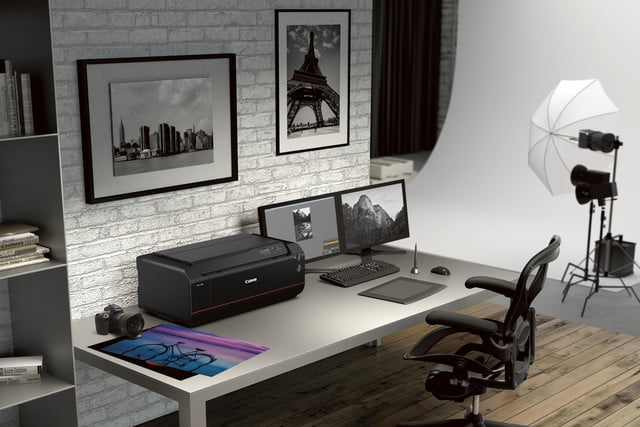 the stunning feature of canons new printer is not just tech but design canon imageprograf pro1000 5