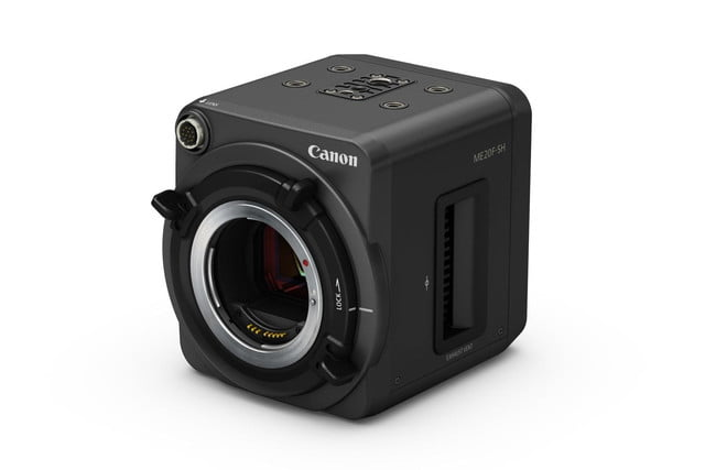 canons new video camera sees in the dark better than your eyes can canon me20f sh 3