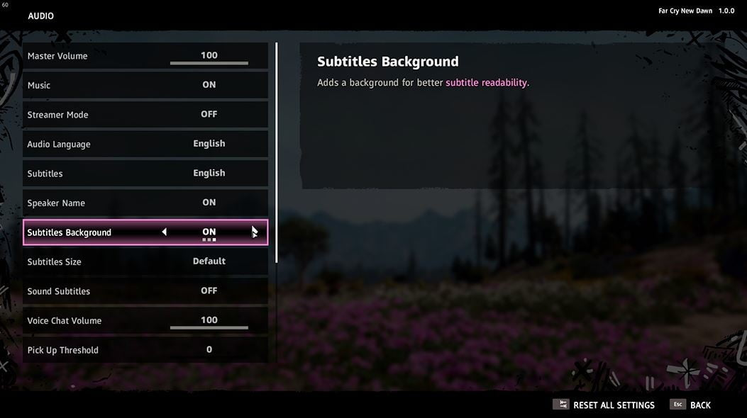 ubisoft accessibility in video games initiative far cry new dawn subtitles