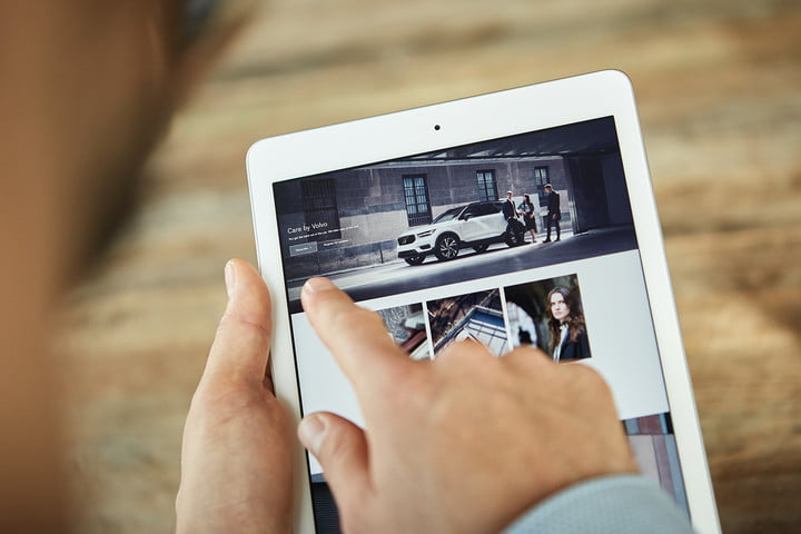 care by volvo tablet