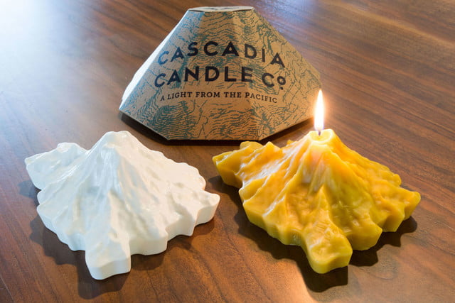 awesome tech you cant buy yet basslet edo cascadia candles  hyperrealistic 3d mountain