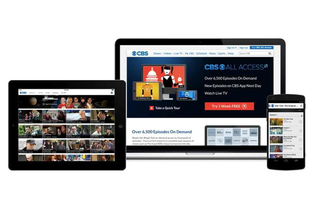 cbs jumps internet bandwagon new stand alone service access all