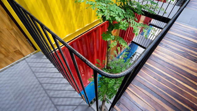 vietnamese shipping container hostel ccasa by tak architects 05