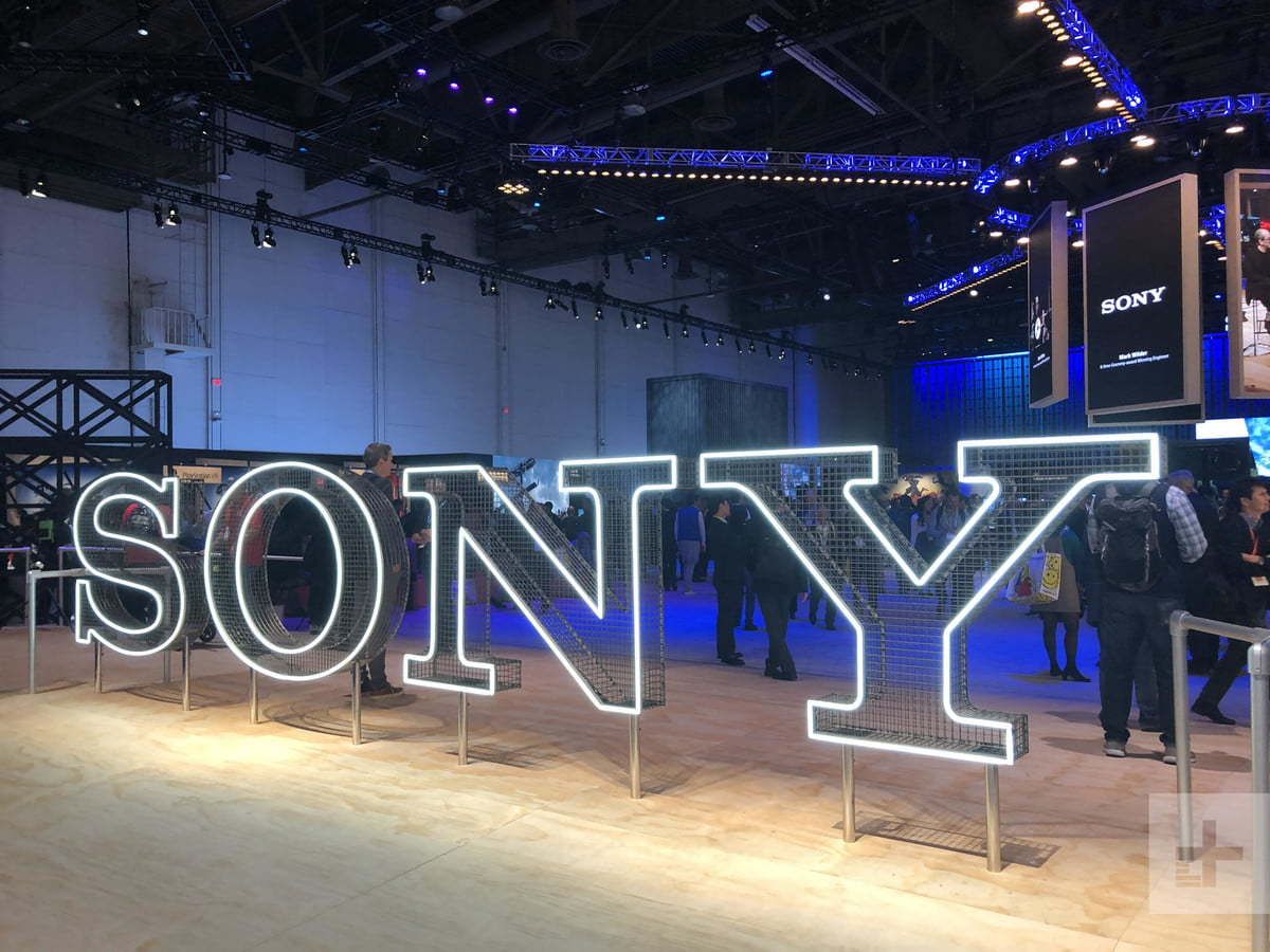 CES 2019 Booth Sony