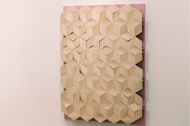chao chens pine cone inspired designs close when wet chen pinecone building material wall