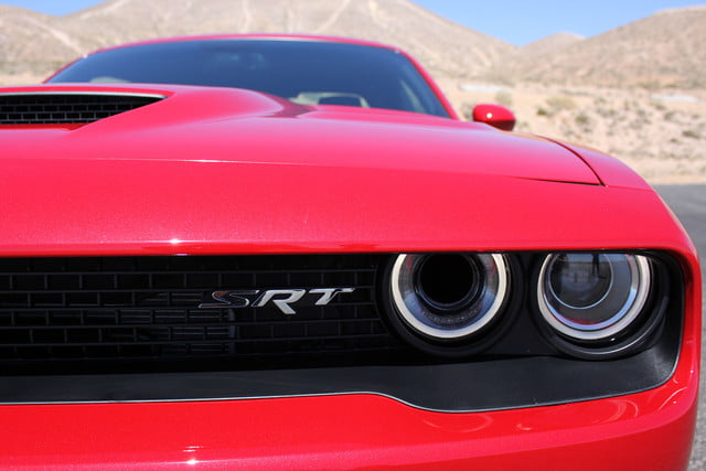 2015 dodge charger challenger srt hellcats track review and hellcat on headlight