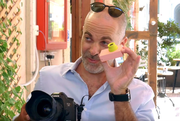 Pulitzer Prize-winning photographer trades in his gear for a toy camera