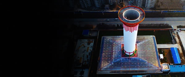 This smog-sucking chimney in China is the world's largest air purifier