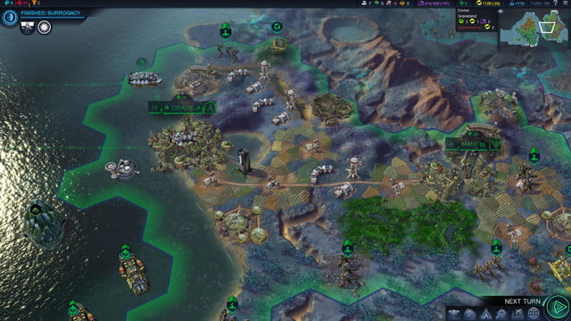 will first 250 turns civilization beyond earth shape screenshot 19