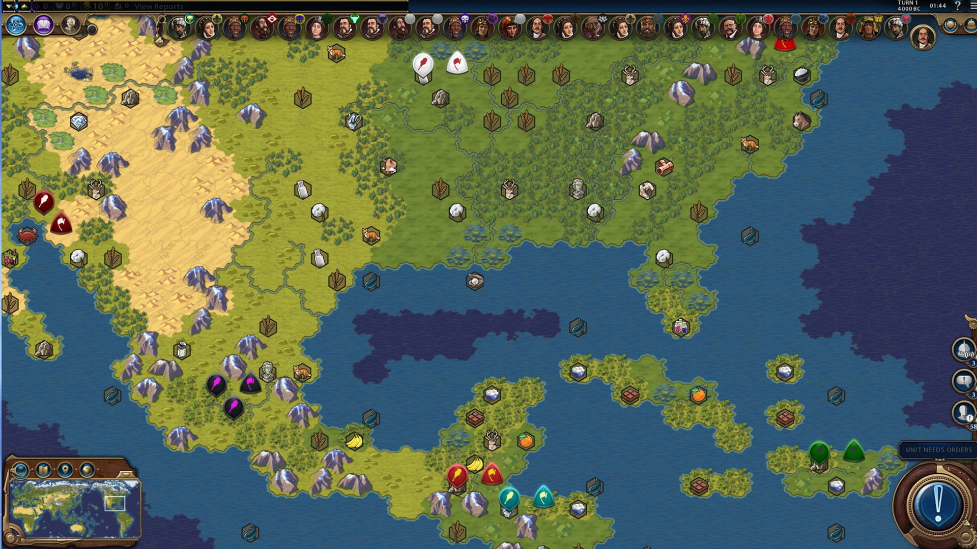 Modder Releases 'Ludicrous' Earth Map For 'Civilization VI