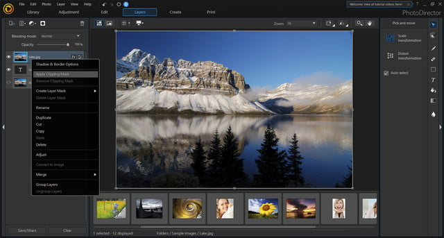 cyberlink photodirector powerdirector 2018 announced clipping mask copy