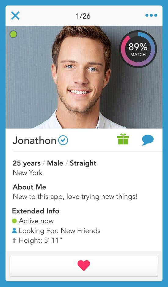 Great online dating profiles for men