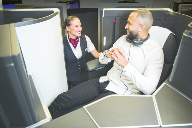british airways new club suite for business class comes with a door 4