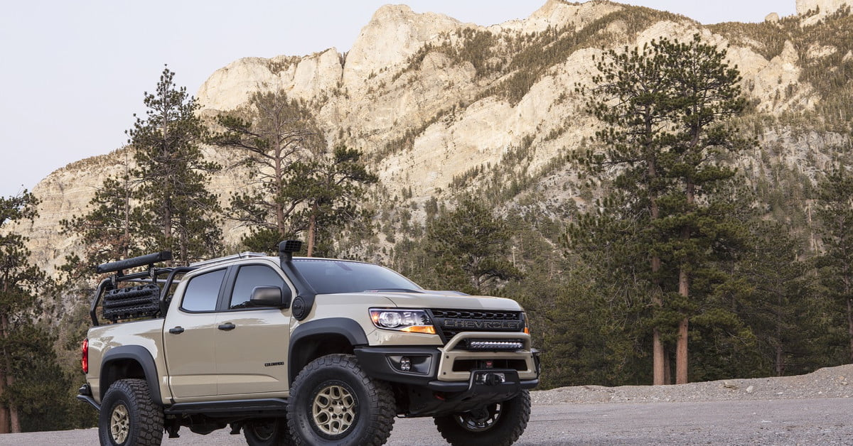 2.8 L Duramax >> Chevrolet Colorado ZR2 SEMA 2017 Concepts | Photos, Specs ...