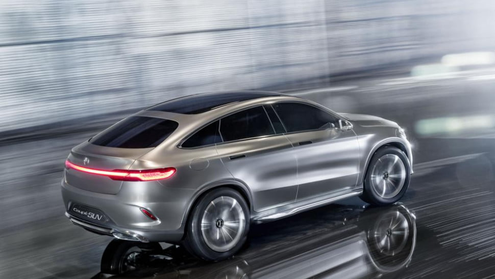 mercedes benz concept coupe suv revealed - Mercedes Benz Concept Coup Suv