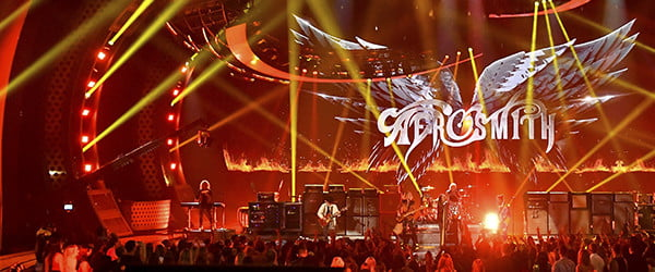 Dream on: The concert of the future is in Vegas, and Aerosmith leads the charge