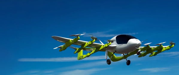 Google co-founder's self-flying taxi takes flight