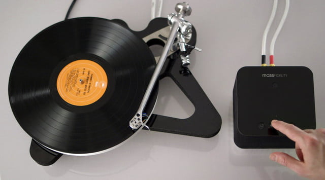 mass fidelity core speaker launches indiegogo turntable