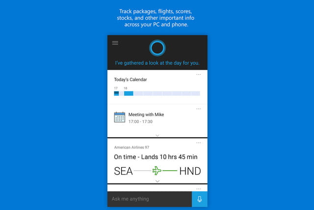 cortana android ios app andoid smartphone voice recognition 3