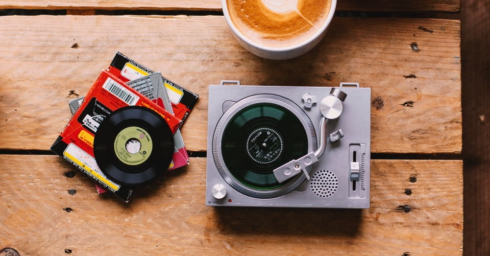 Crosley's Mini-Turntable Is a 3-inch Record Player