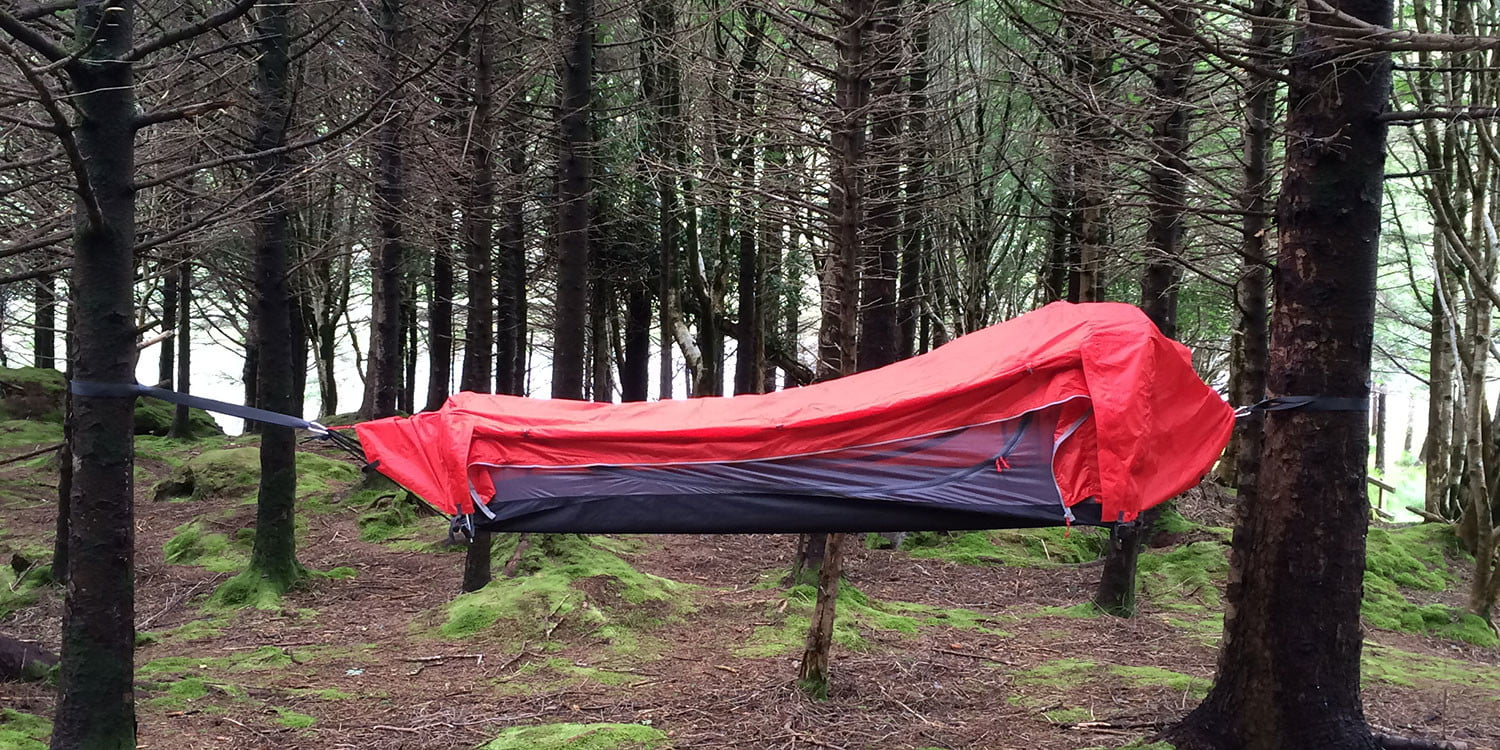 Need a sleeping bag hammock and tent? The Crua Hybrid can be all three & Need a sleeping bag hammock and tent? The Crua Hybrid can be all ...