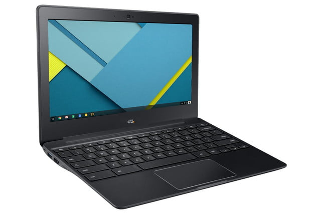 ctl partners google launch chromebook j2 j4 for education front side right