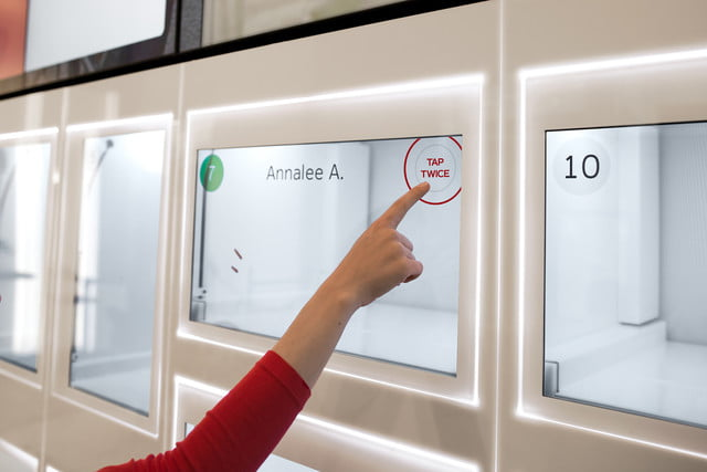 eatsa automated fast food cubby tap open