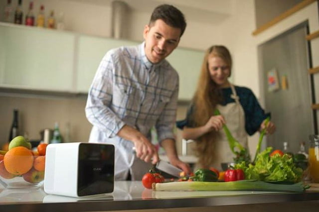 cubic is a voice activated personal assistant robot robotic cooking