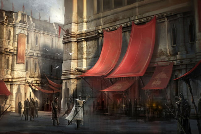heres everything need know story leading dragon age inquisition daii concept art 16