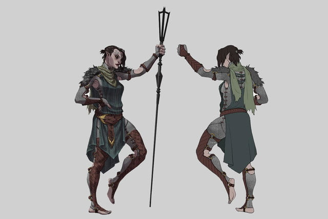 heres everything need know story leading dragon age inquisition daii concept art 28