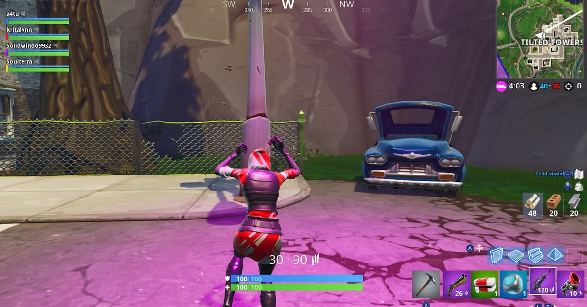 How To Complete Fortnite Dance Under Different Streetlight