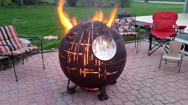 death star fire pit hcv7dsr