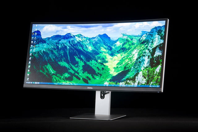 Dell U3415W UltraWide curved monitor