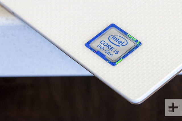 Dell XPS 13 9370 review | Logo of Intel core