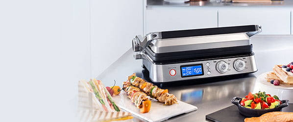 The 'monster truck of panini presses' also makes damn good waffles