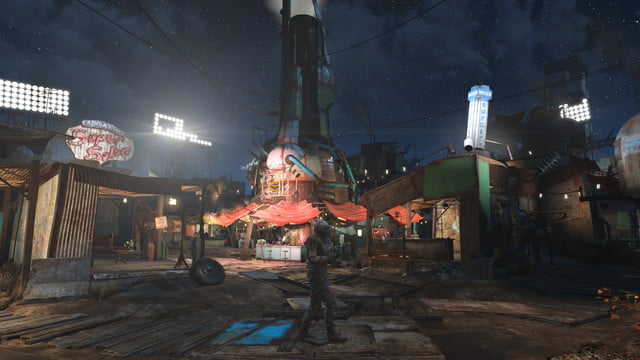 enter the wasteland without leaving home with our 5k screenshots from fallout 4 diamondcity2
