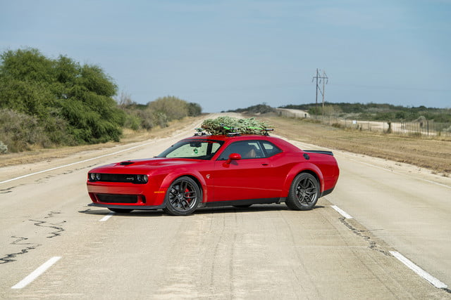 hennessey and dodge takes record for worlds fastest christmas tree 174mph 09